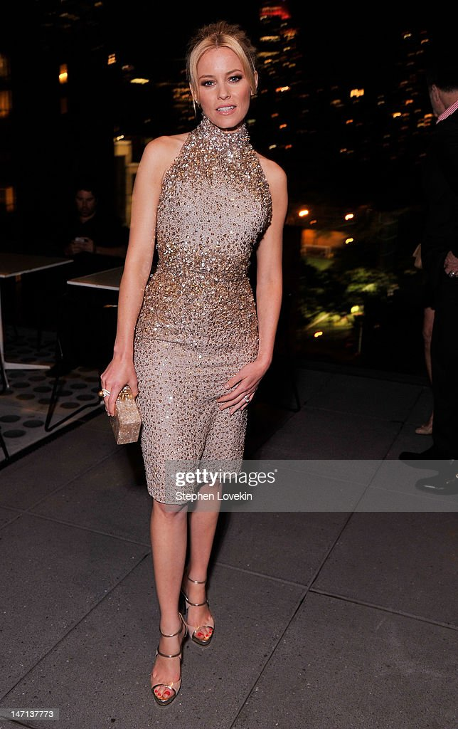 Actress Elizabeth Banks attends the after party for the Cinema Society with Linda Wells & Allure screening of DreamWorks Studios' 'People Like Us' at Hotel Americano on June 25, 2012 in New York City.