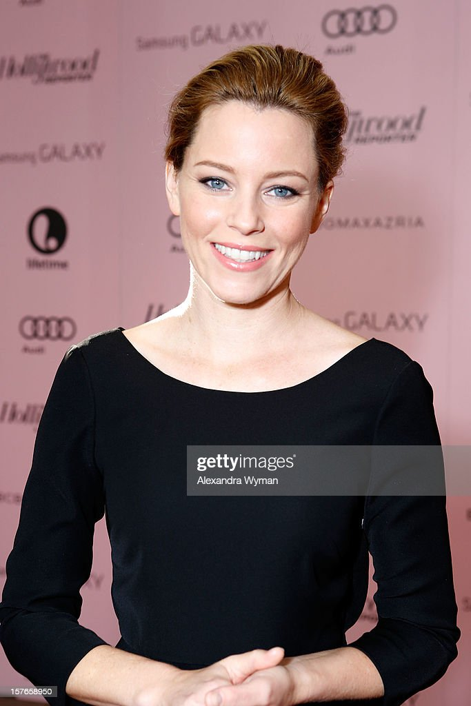 Actress <a gi-track='captionPersonalityLinkClicked' href=/galleries/search?phrase=Elizabeth+Banks&family=editorial&specificpeople=202475 ng-click='$event.stopPropagation()'>Elizabeth Banks</a> attends The Hollywood Reporter's 'Power 100: Women In Entertainment' Breakfast at the Beverly Hills Hotel on December 5, 2012 in Beverly Hills, California.
