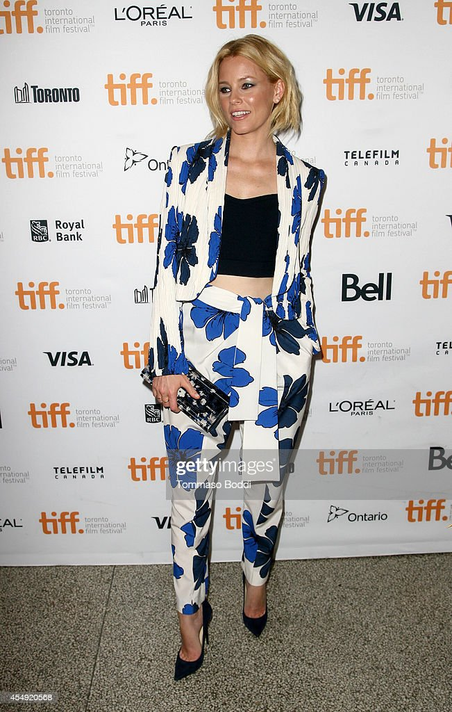 Actress <a gi-track='captionPersonalityLinkClicked' href=/galleries/search?phrase=Elizabeth+Banks&family=editorial&specificpeople=202475 ng-click='$event.stopPropagation()'>Elizabeth Banks</a> attends the 'Love & Mercy' premiere during the 2014 Toronto International Film Festival at The Elgin on September 7, 2014 in Toronto, Canada.