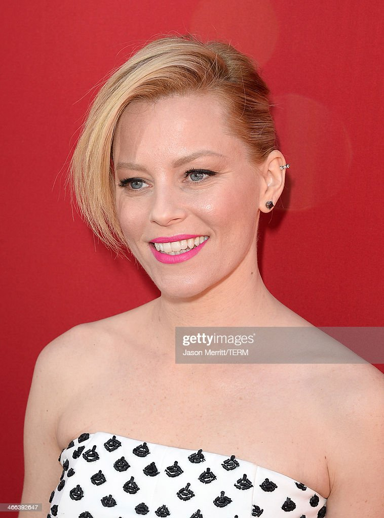 Actress Elizabeth Banks attends the premiere of 'The LEGO Movie' at Regency Village Theatre on February 1, 2014 in Westwood, California.