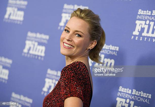 Actress Elizabeth Banks attends the Santa Barbara International Film Festival Annual Kirk Douglas Award for Excellence in Film honoring Jane Fonda at...