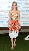 Actress Elizabeth Banks is honored with the 2012 Navigator Award at the 2012 Maui Film Festival at the Celestial Cinema on June 17 2012 in Wailea...