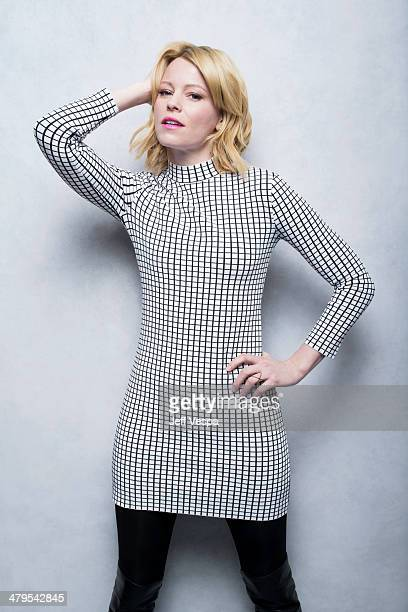 Actress Elizabeth Banks is photographed at the Sundance Film Festival 2014 for Self Assignment on January 25 2014 in Park City Utah