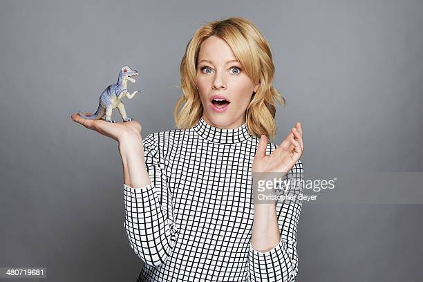 Actress Elizabeth Banks is photographed for Entertainment Weekly Magazine on January 25 2014 in Park City Utah