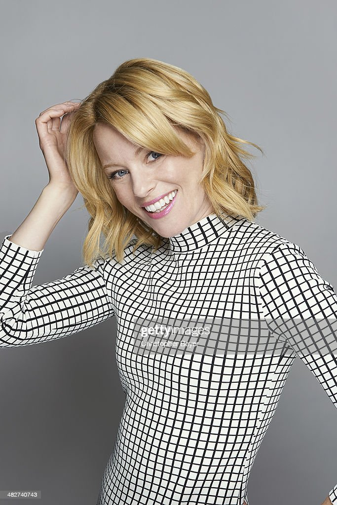 Actress Elizabeth Banks is photographed for Entertainment Weekly Magazine on January 25, 2014 in Park City, Utah.