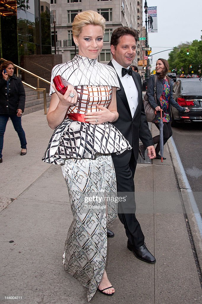 Actress Elizabeth Banks is seen at the Trump International Hotel & Tower New York on May 7, 2012 in New York City.