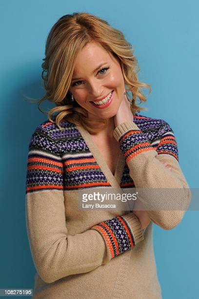 Actress Elizabeth Banks poses for a portrait during the 2011 Sundance Film Festival at The Samsung Galaxy Tab Lift on January 23 2011 in Park City...