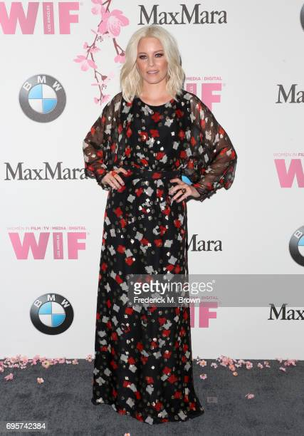 Actress Elizabeth Banks wearing Max Mara attends the Women In Film 2017 Crystal Lucy Awards presented By Max Mara and BMW at The Beverly Hilton Hotel...