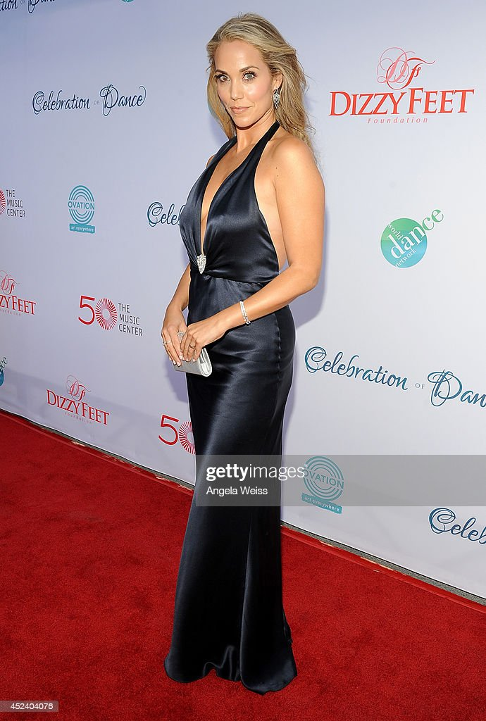 Actress Elizabeth Berkley attends Dizzy Feet Foundation's Celebration Of Dance Gala at The Music Center on July 19, 2014 in Los Angeles, California.