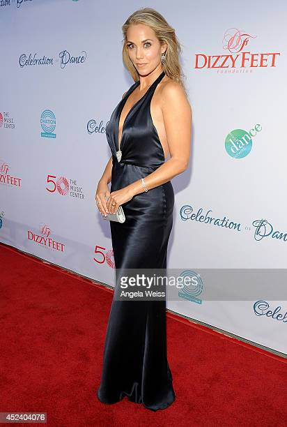 Actress Elizabeth Berkley attends Dizzy Feet Foundation's Celebration Of Dance Gala at The Music Center on July 19 2014 in Los Angeles California