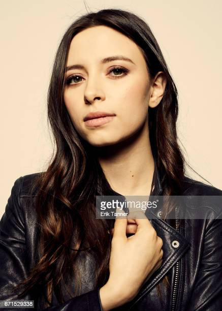 Actress Elizabeth Cappuccino from 'Super Dark Times' poses for a portrait at the 2017 Tribeca Film Festival portrait studio on April 20 2017 in New...