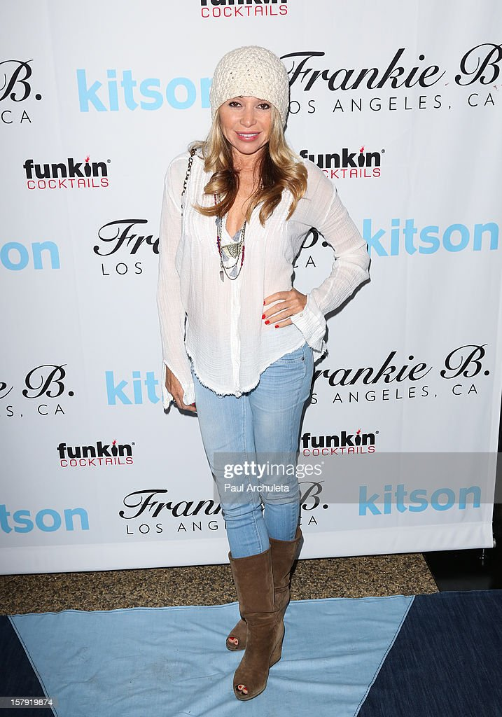Actress Elizabeth Daily attends the Get Festive With Frankie B. and Kitson event at Kitson on Roberston on December 6, 2012 in Beverly Hills, California.