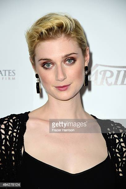 Actress Elizabeth Debicki arrives at the 4th Annual Australians In Film Awards Benefit Dinner And Gala at InterContinental Hotel on October 25 2015...