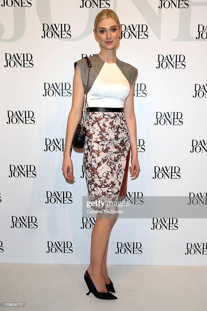 Actress Elizabeth Debicki arrives at the David Jones Spring/Summer 2013 Collection Launch at David Jones Elizabeth Street on July 31, 2013 in Sydney, Australia.