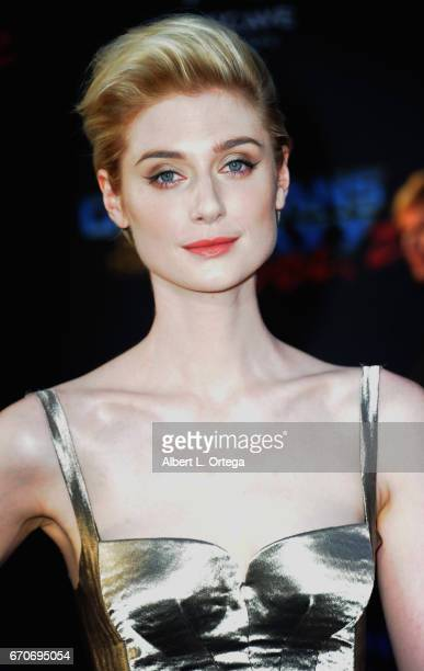 Actress Elizabeth Debicki arrives for the Premiere Of Disney And Marvel's 'Guardians Of The Galaxy Vol 2' held at Dolby Theatre on April 19 2017 in...