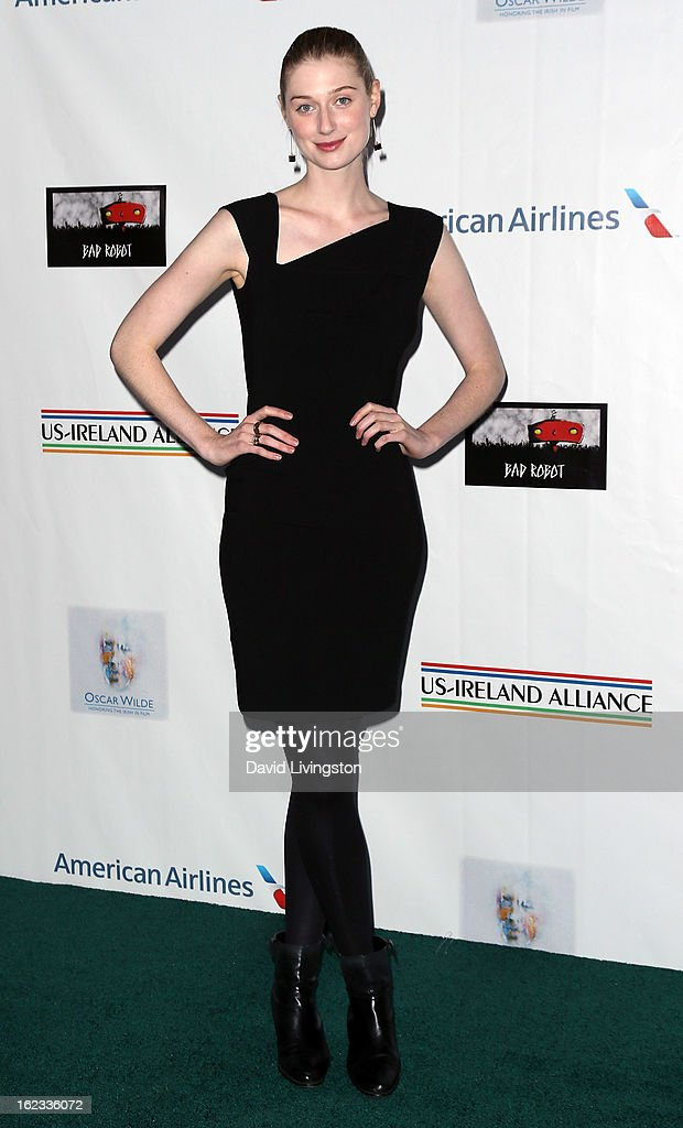 Actress Elizabeth Debicki attends the 8th Annual 'Oscar Wilde: Honoring The Irish In Film' Pre-Academy Awards Event at Bad Robot on February 21, 2013 in Santa Monica, California.