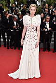 Actress Elizabeth Debicki attends the 'Macbeth' Premiere during the 68th annual Cannes Film Festival on May 23 2015 in Cannes France