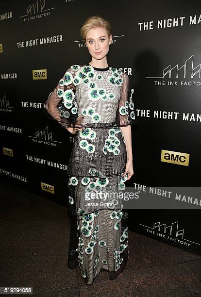 Actress Elizabeth Debicki attends the premiere of AMC's 'The Night Manager' at DGA Theater on April 5 2016 in Los Angeles California