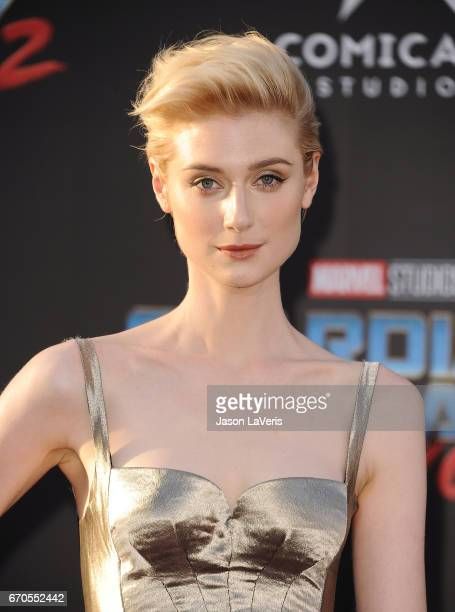 Actress Elizabeth Debicki attends the premiere of 'Guardians of the Galaxy Vol 2' at Dolby Theatre on April 19 2017 in Hollywood California