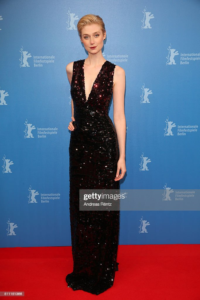 Actress Elizabeth Debicki attends the 'The Night Manager' premiere during the 66th Berlinale International Film Festival Berlin at Haus der Berlinale on February 18, 2016 in Berlin, Germany.