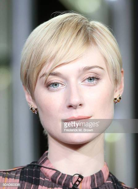 Actress Elizabeth Debicki speaks onstage during The Night Manager panel as part of the AMC Networks portion of This is Cable 2016 Television Critics...