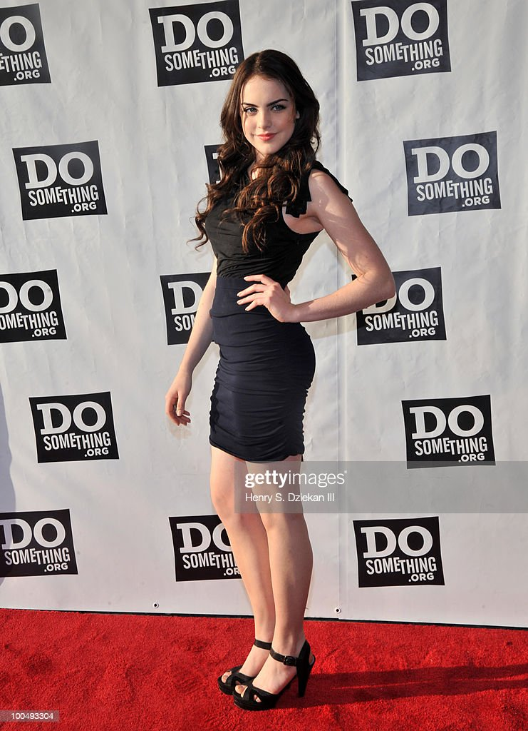 Actress Elizabeth Gillies attends DoSomething.org's celebration of the 2010 Do Something Award nominees at The Apollo Theater on May 24, 2010 in New York City.