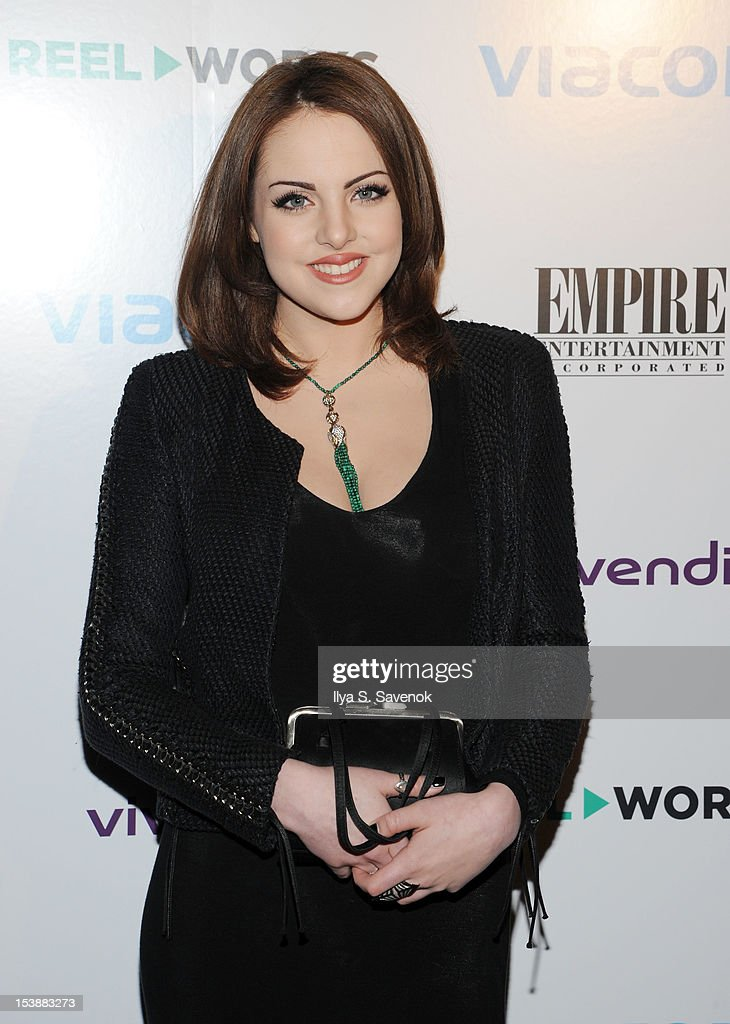 Actress Elizabeth Gillies attends Reel Works 2012 Gala Benefit at The Edison Ballroom on October 10, 2012 in New York City.