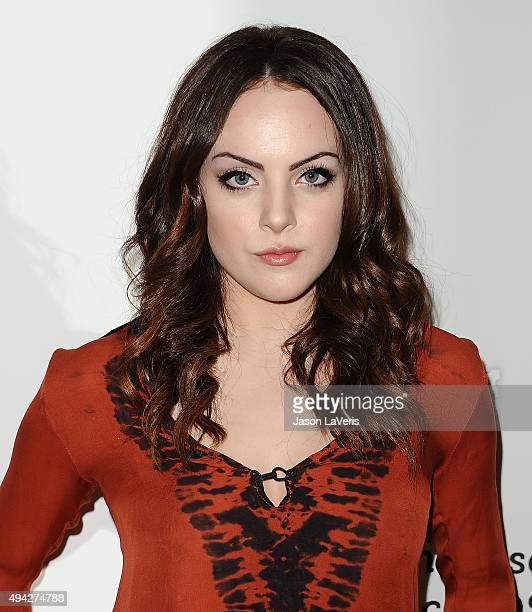 Actress Elizabeth Gillies attends the Elizabeth Glaser Pediatric AIDS Foundation's 26th A Time For Heroes family festival at Smashbox Studios on...