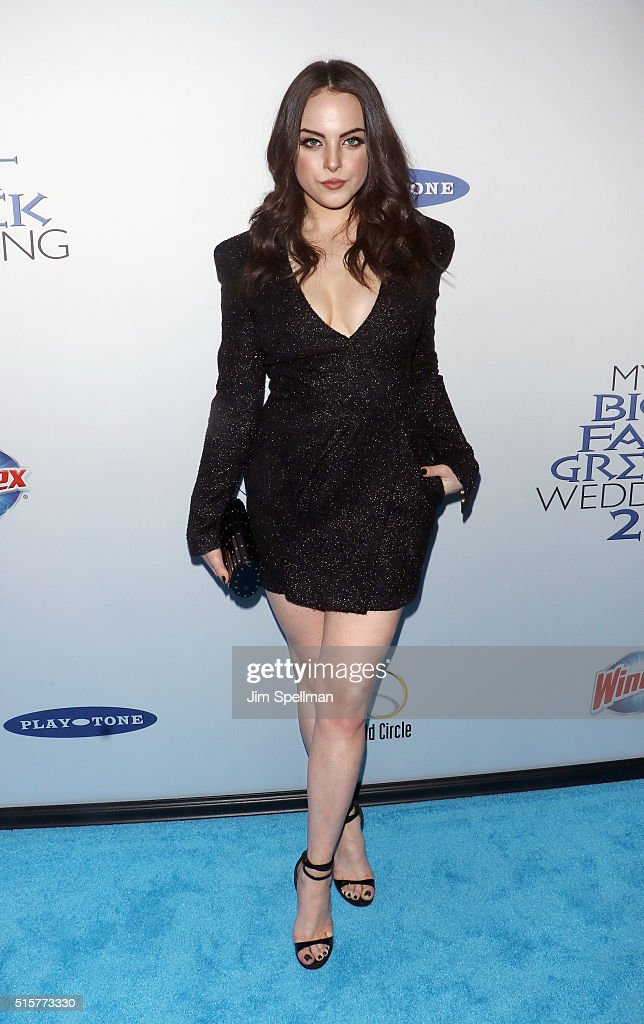 Actress Elizabeth Gillies attends the 'My Big Fat Greek Wedding 2' New York premiere at AMC Loews Lincoln Square 13 theater on March 15, 2016 in New York City.