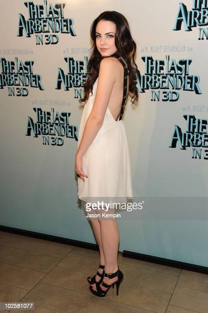 Actress Elizabeth Gillies attends the premiere of 'The Last Airbender' at Alice Tully Hall on June 30 2010 in New York City