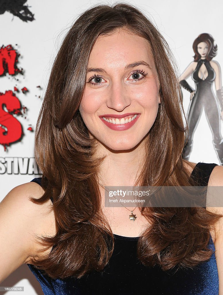 Actress Elizabeth Guest attends the premiere of 'Kill Her, Not Me' during the closing night of the Everybody Dies Film Festival on September 15, 2013 in Brea, California.