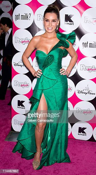 Actress Elizabeth Gutierrez attends the 15th annual People en Espanol '50 Most Beautiful' Issue Celebration at Guastavino's on May 19 2011 in New...