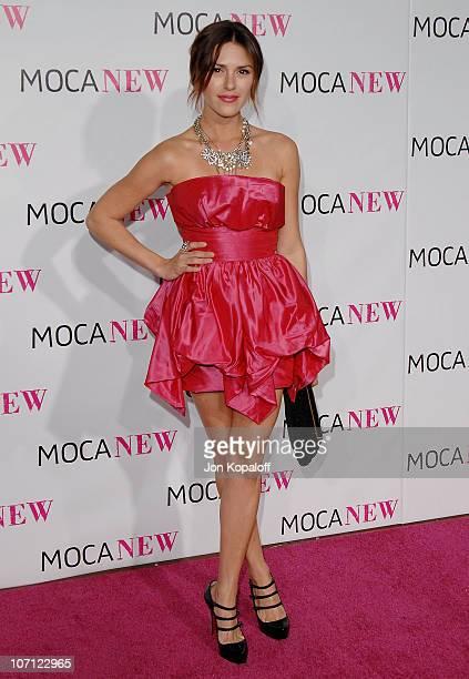 Actress Elizabeth Hendrickson arrives at The MOCA New 30th Anniversary Gala at MOCA Grand Avenue on November 14 2009 in Los Angeles California