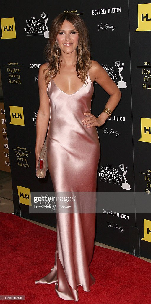 Actress Elizabeth Hendrickson attends the 39th Annual Daytime Entertainment Emmy Awards at The Beverly Hilton Hotel on June 23, 2012 in Beverly Hills, California.
