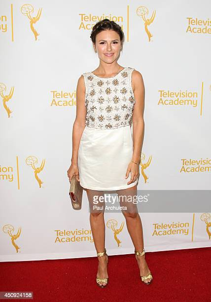 Actress Elizabeth Hendrickson attends the Daytime Emmy Nominee Reception at The London West Hollywood on June 19 2014 in West Hollywood California