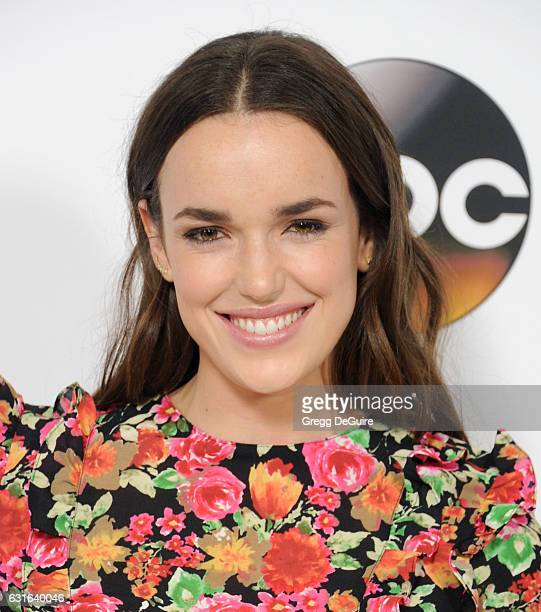 Actress Elizabeth Henstridge arrives at the 2017 Winter TCA Tour Disney/ABC at the Langham Hotel on January 10 2017 in Pasadena California