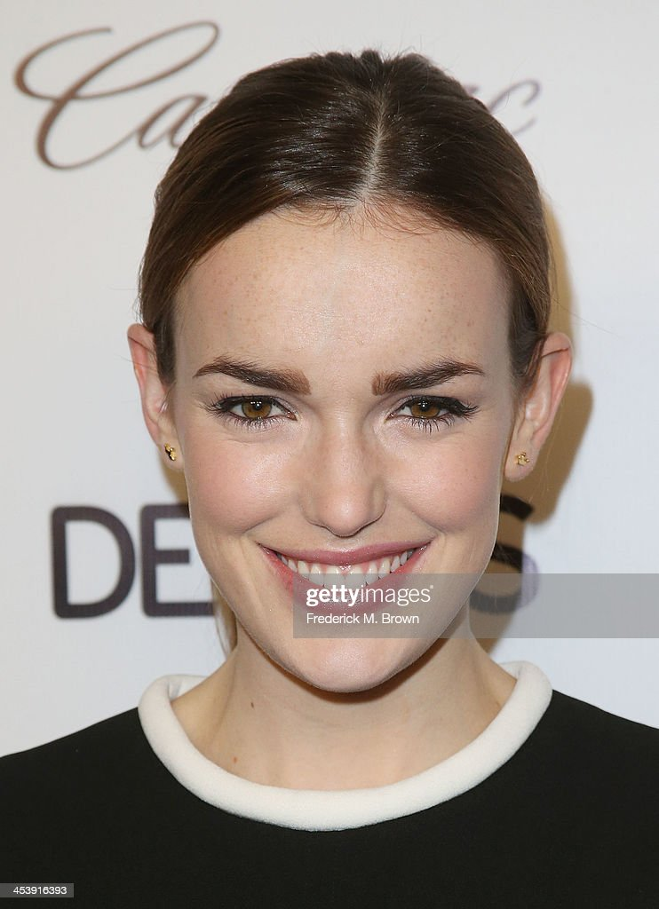Actress <a gi-track='captionPersonalityLinkClicked' href=/galleries/search?phrase=Elizabeth+Henstridge&family=editorial&specificpeople=10926347 ng-click='$event.stopPropagation()'>Elizabeth Henstridge</a> attends DETAILS Celebrates The 2013 Hollywood Mavericks at the Soho House on December 5, 2013 in West Hollywood, California.