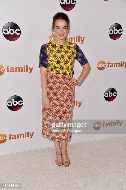 Actress Elizabeth Henstridge attends Disney ABC Television Group's 2015 TCA Summer Press Tour at the Beverly Hilton Hotel on August 4 2015 in Beverly...