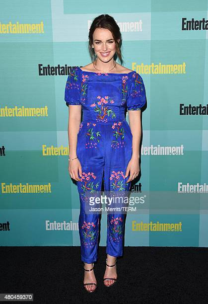 Actress Elizabeth Henstridge attends Entertainment Weekly's ComicCon 2015 Party sponsored by HBO Honda Bud Light Lime and Bud Light Ritas at FLOAT at...