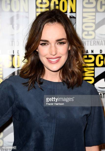 Actress Elizabeth Henstridge attends 'Marvel's Agents Of SHIELD' 'Marvel's Agent Carter' during ComicCon International 2014 at Hilton Bayfront on...