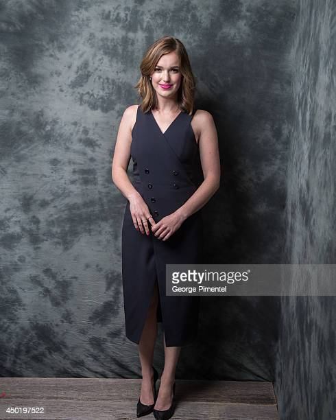 Actress Elizabeth Henstridge of Marvel's Agent Of SHELD poses for a portrait during CTV 2014 Upfront at Sony Centre for the Performing Arts on June 5...