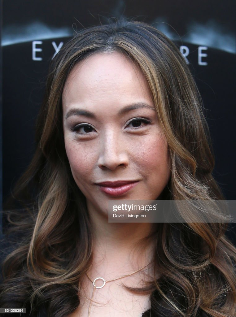 Actress Elizabeth Ho attends the premiere of WWE Studios' 'Birth of the Dragon' at ArcLight Hollywood on August 17, 2017 in Hollywood, California.