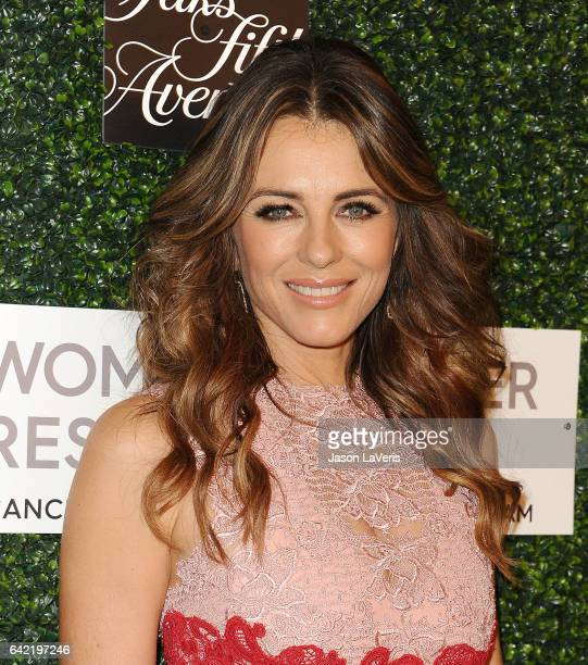 Actress Elizabeth Hurley attends An Unforgettable Evening at the Beverly Wilshire Four Seasons Hotel on February 16 2017 in Beverly Hills California
