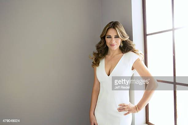 Actress Elizabeth Hurley is photographed for TV Guide Magazine on January 15 2015 in Pasadena California