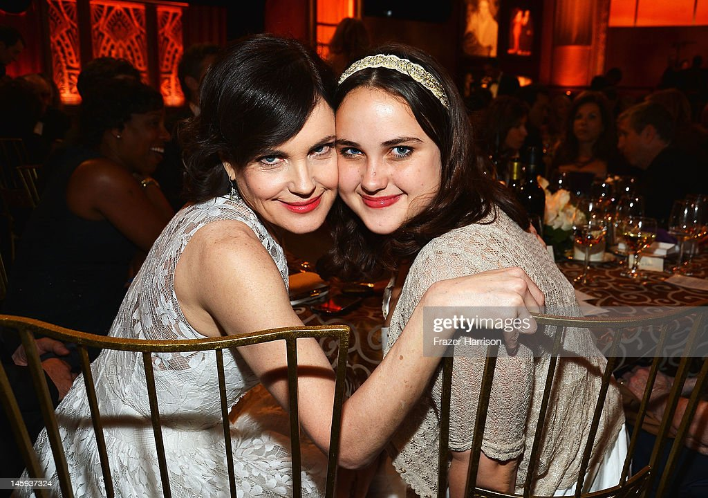Actress <a gi-track='captionPersonalityLinkClicked' href=/galleries/search?phrase=Elizabeth+McGovern&family=editorial&specificpeople=734460 ng-click='$event.stopPropagation()'>Elizabeth McGovern</a> and Matilda McGovern attend the 40th AFI Life Achievement Award honoring Shirley MacLaine held at Sony Pictures Studios on June 7, 2012 in Culver City, California. The AFI Life Achievement Award tribute to Shirley MacLaine will premiere on TV Land on Saturday, June 24 at 9PM ET/PST.
