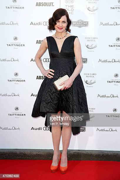 Actress Elizabeth McGovern arrives at The Old Vic Theatre for a gala celebration in honour of Kevin Spacey as the artistic director's tenure comes to...