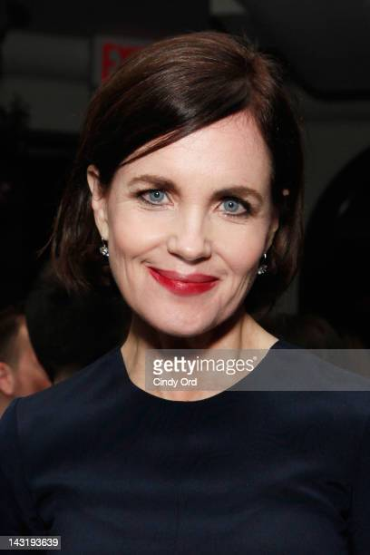 Actress Elizabeth McGovern attends the Tribeca Film Festival AfterParty 2012 For Cheerful Weather At ROC on April 20 2012 in New York City