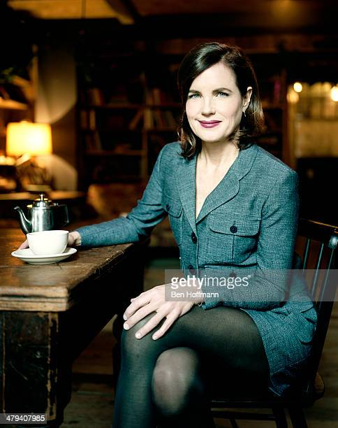 Actress Elizabeth McGovern is photographed for People Magazine on December 15 2011 in New York City