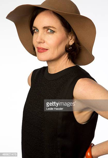 Actress Elizabeth McGovern is photographed on April 21 2012 in New York City