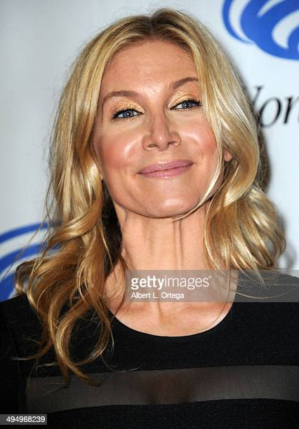 Actress Elizabeth Mitchell promotes NBC's 'Revolution' at WonderCon Anaheim 2014 Day 1 held at Anaheim Convention Center on April 18 2014 in Anaheim...
